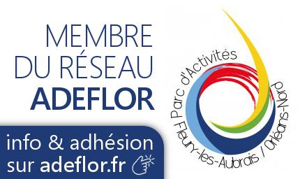 Badge membre du réseau ADEFLOR