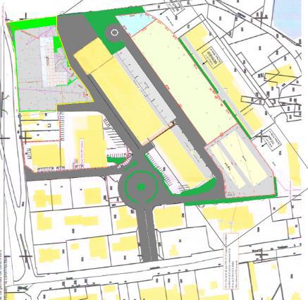 Plan du Parc d'Activités des Vallées