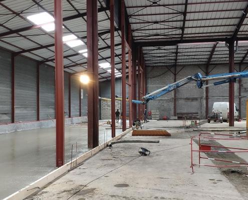 Legoupil Industrie rénove de A à Z un entrepôt en concept original d'Entrepôt-Village de 6.300 m²