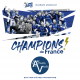 Les SEPTORS sont les CHAMPIONS de FRANCE !!